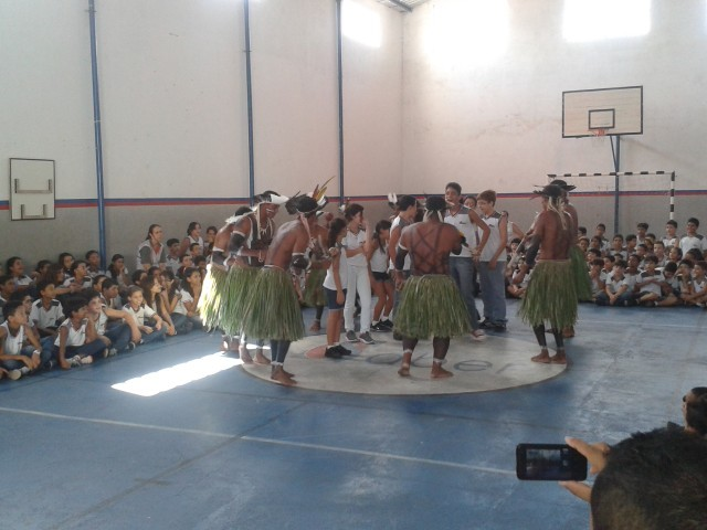 Tribo Kariri Xocó no Colégio O Saber