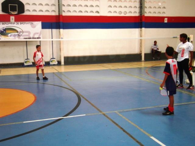 Colégio O Saber Nos Jogos Escolares da TV Sergipe Com O Badminton