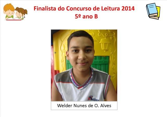 Finalistas do Concurso de Leitura 2014