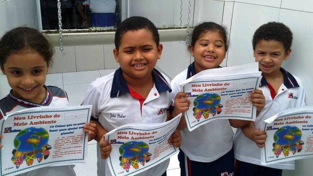 Nossos pequenos grandes alunos: Meio Ambiente