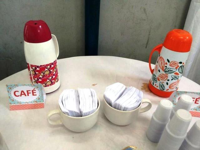 Chá da tarde em homenagem ao dia dos avós