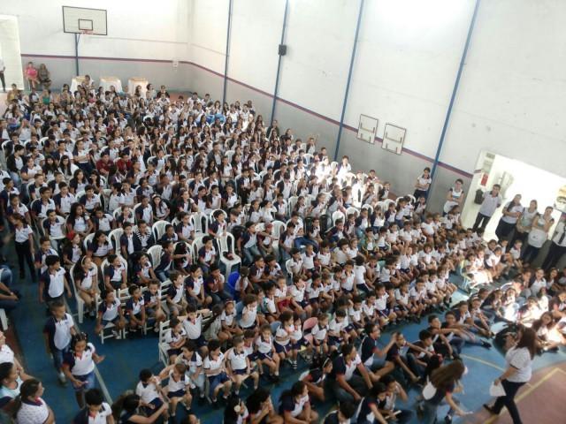 Comemoração dos 15 anos do Colégio O Saber