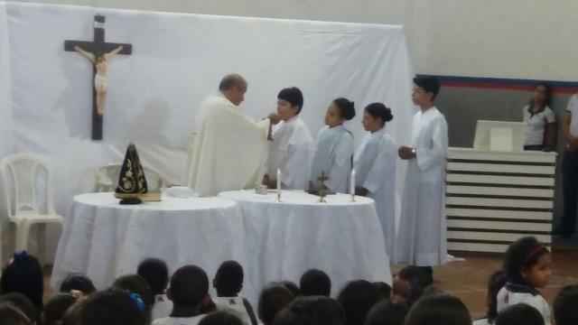 Missa em Ação de graça aos 16 anos do Colégioosaber O Saber!