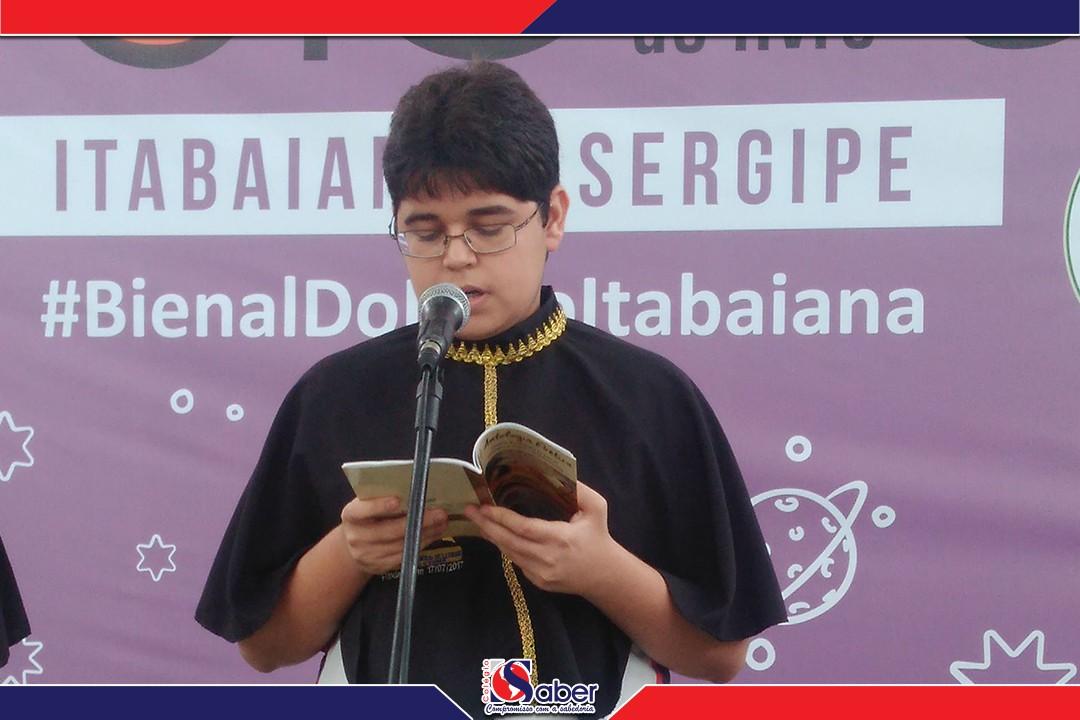 Colégio O Saber na Bienal do livro de Itabaiana