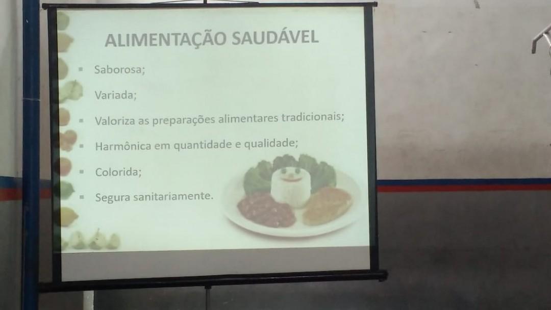 Palestra de Alimentação
