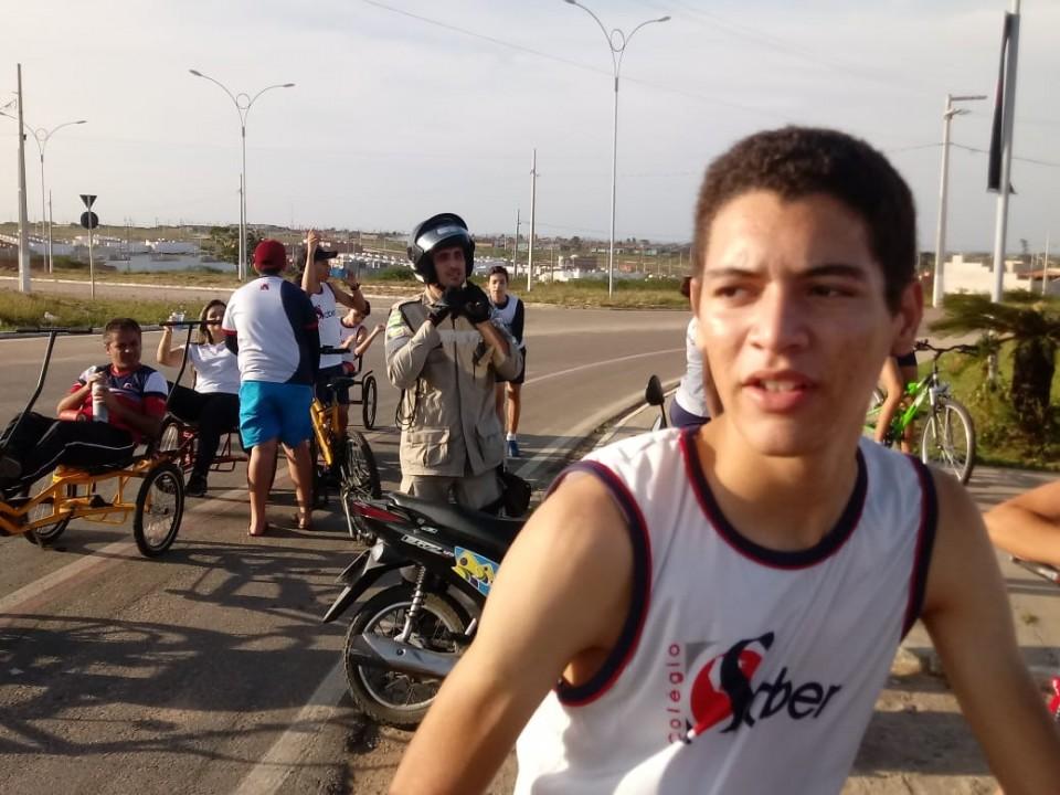 Passeio Ciclístico