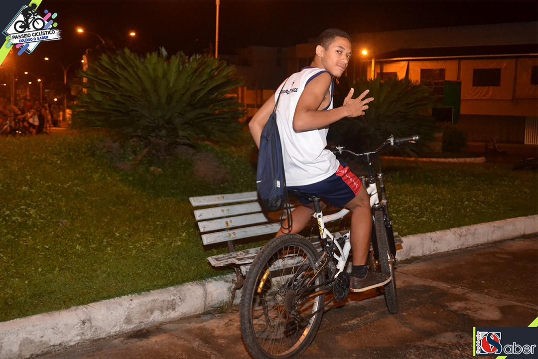 Passeio Ciclístico Colégio O Saber