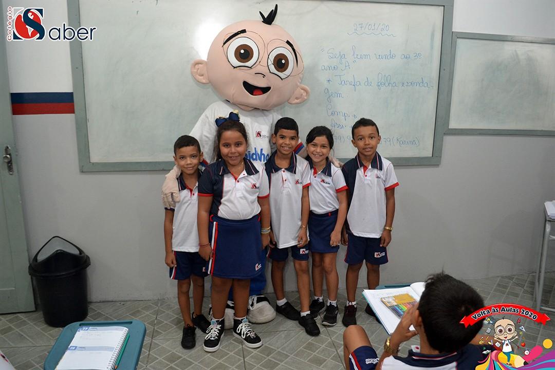 Volta às Aulas Infantil e Fundamental 1 (Manhã)