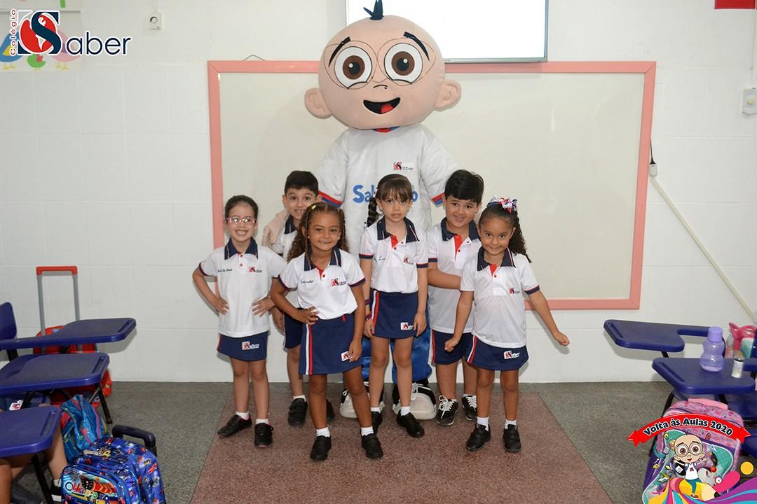 Volta às Aulas Infantil e Fundamental 1 (Tarde)
