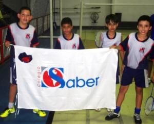 A participação do Colégio O Saber nos Jogos Escolares TV Sergipe 2014