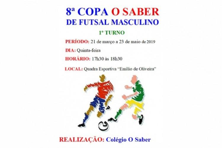 8ª Copa O Saber de futsal masculino 2019